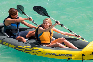 Kayak hinchable Intex explorer k2 aventura
