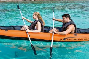 Kayak inflable para 2 personas